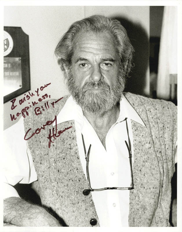 Image 1 for Corey Allen - Autographed Inscribed Photograph - HFSID 222836