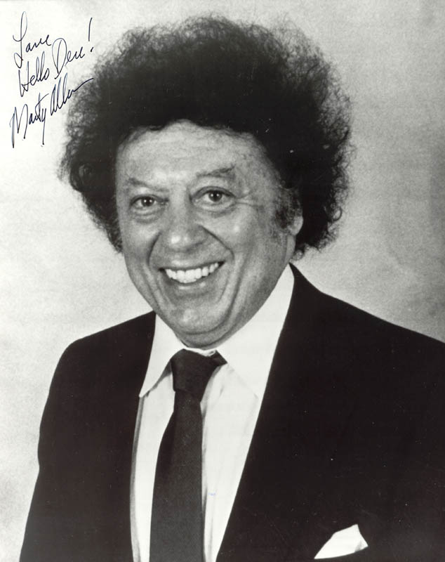 Marty Allen Inscribed Photograph Signed Hfsid