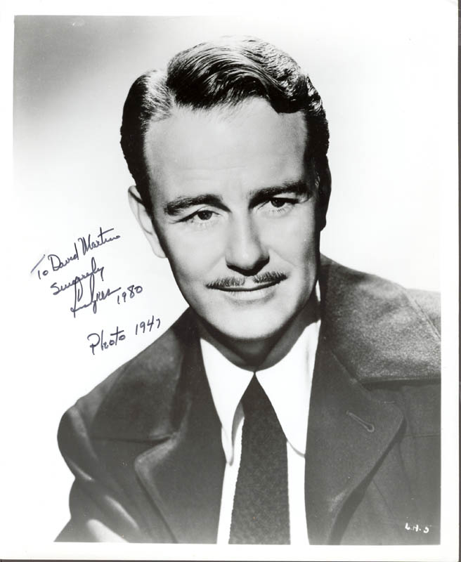 Image 1 for Lew Ayres - Autographed Inscribed Photograph 1980 - HFSID 222865