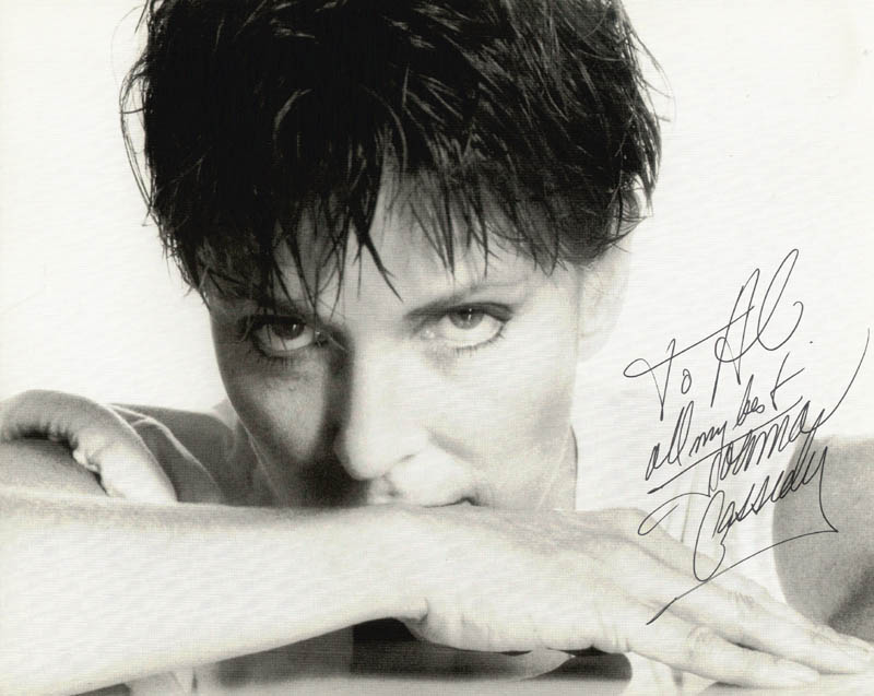 Image 1 for Joanna Cassidy - Autographed Inscribed Photograph - HFSID 223176