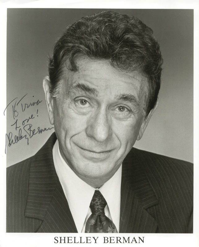 Image 1 for Shelley Berman - Autographed Inscribed Photograph - HFSID 223287