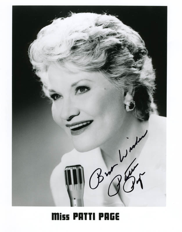 Image 1 for Patti Page - Autographed Signed Photograph - HFSID 223616