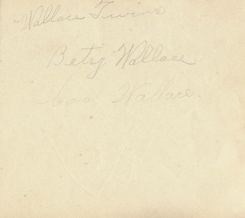 Image 3 for Tom Mix - Autograph co-signed by: Betsy Wallace, Cora Wallace - HFSID 22480