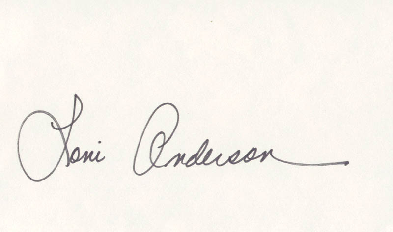 Image 1 for Loni Anderson - Autograph - HFSID 224828