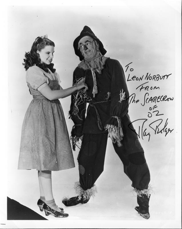 Image 1 for Ray Bolger - Autographed Inscribed Photograph - HFSID 224906