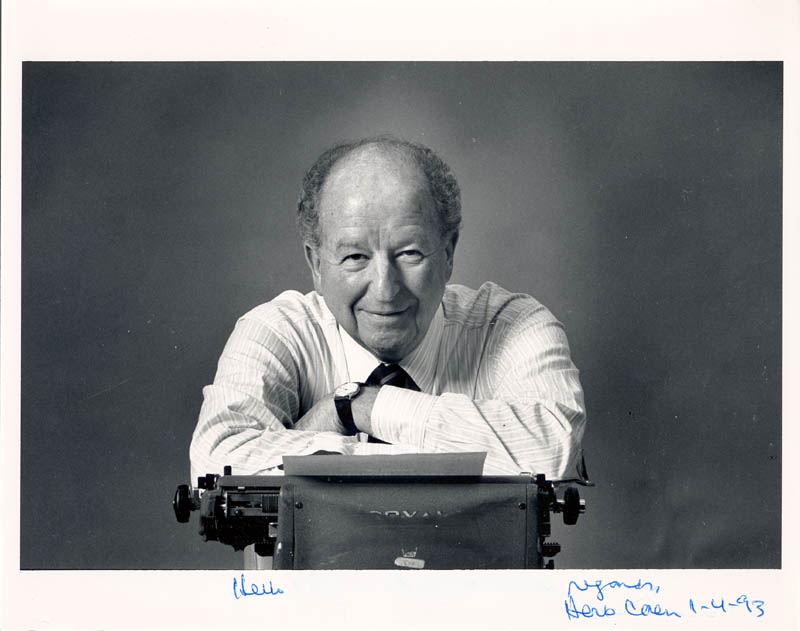 Herb Caen Net Worth