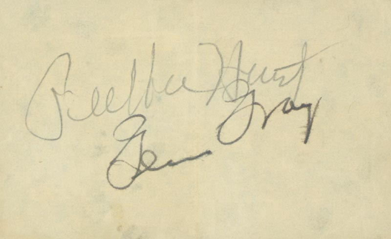 Image 1 for Glen Gray - Autograph co-signed by: Pee Wee Hunt - HFSID 225524