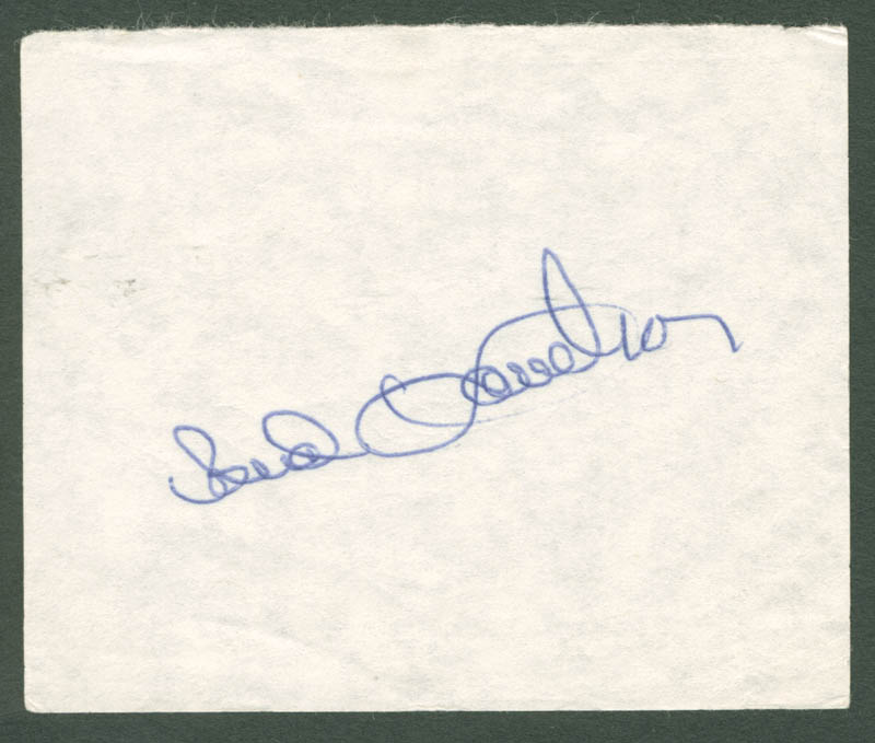Image 1 for Bud Harrelson - Autograph - HFSID 2256
