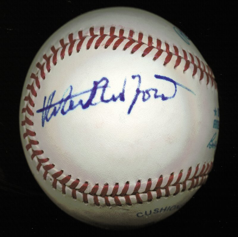 Image 3 for Robert Redford - Autographed Signed Baseball co-signed by: Kevin Costner - HFSID 225925