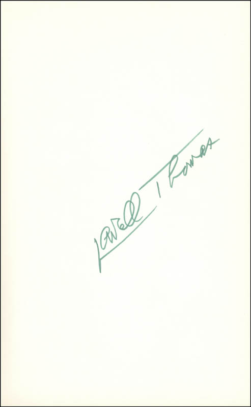 Image 1 for Lowell Thomas - Book Signed Circa 1968 - HFSID 226060