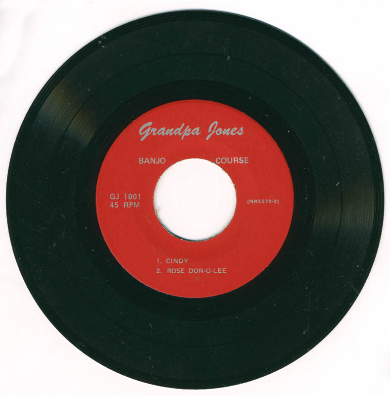 Image 1 for Grandpa (Louis Marshall) Jones - Record Unsigned - HFSID 226087