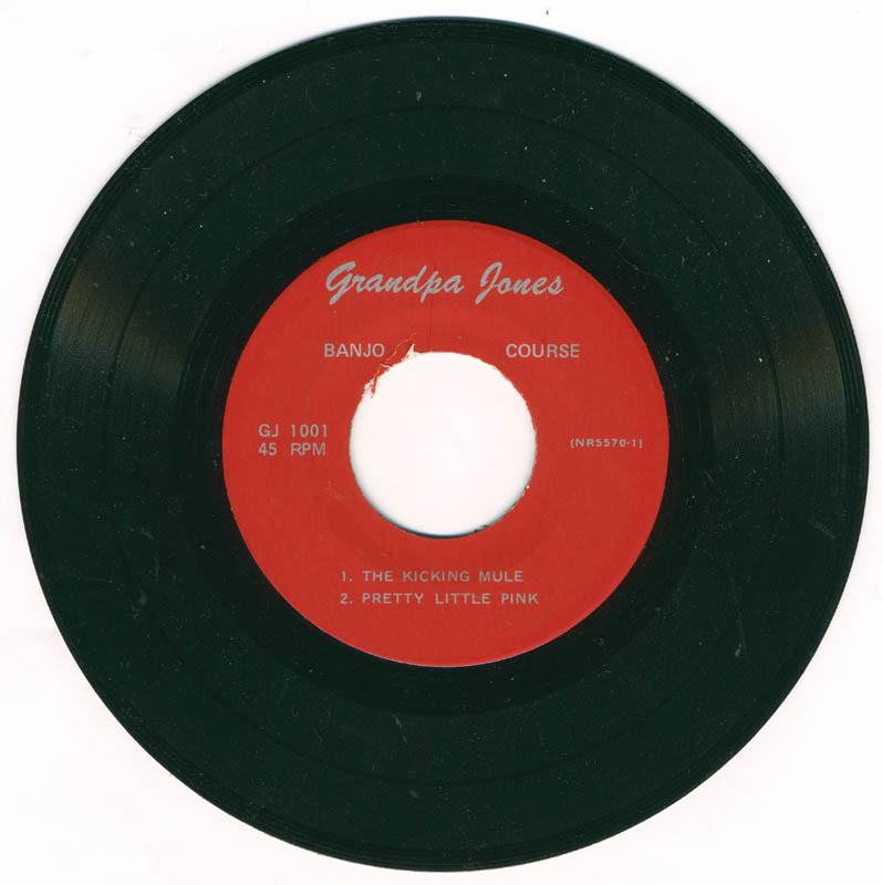 Image 3 for Grandpa (Louis Marshall) Jones - Record Unsigned - HFSID 226087