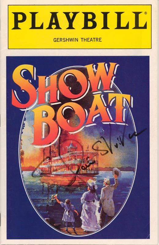 Image 1 for Elaine Stritch - Show Bill Signed Circa 1994 - HFSID 226105
