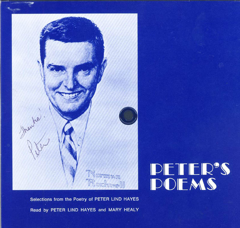 Image 1 for Peter Lind Hayes - Record Album Cover Signed co-signed by: Mary Healy - HFSID 226107