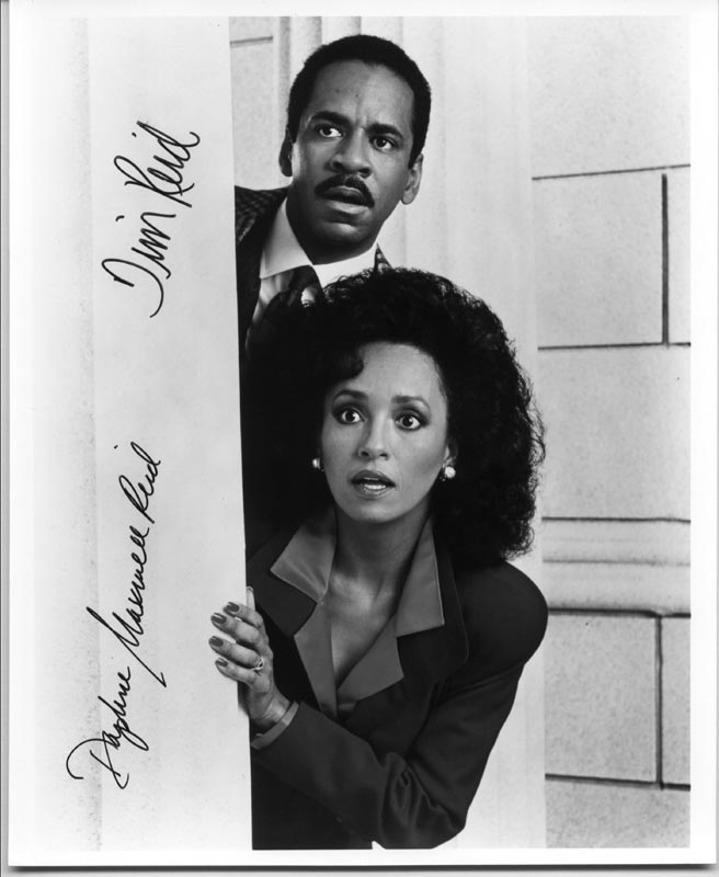 Image 1 for Snoops TV Cast - Autographed Signed Photograph co-signed by: Tim Reid, Daphne Maxwell Reid - HFSID 226471