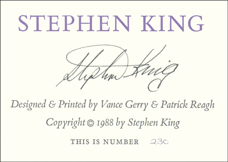 Image 1 for Stephen King - Autographed Signed Poster - HFSID 226476