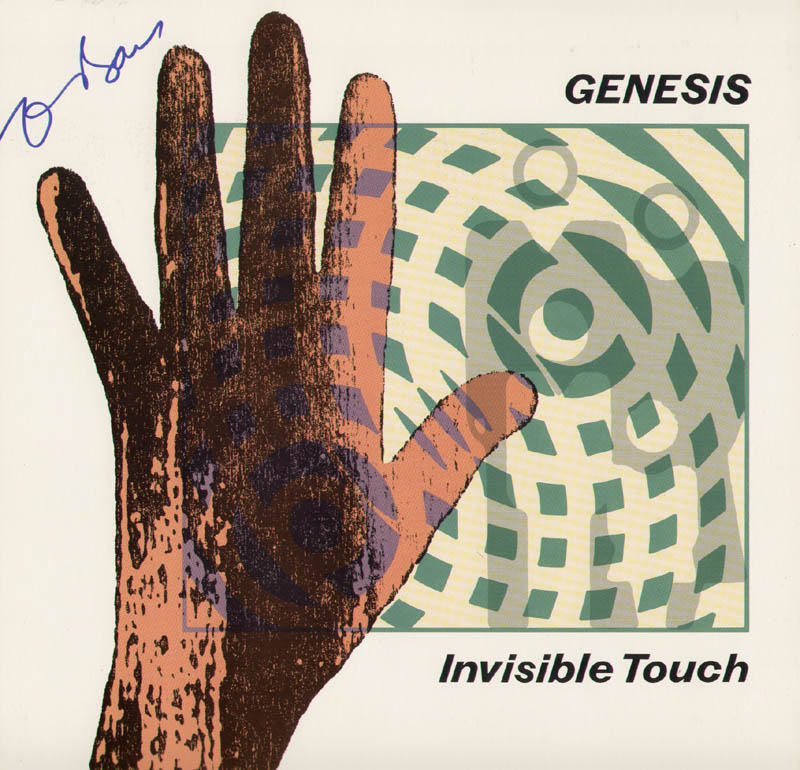 Image 1 for Genesis (Tony Banks) - Record Album Cover Signed - HFSID 226530