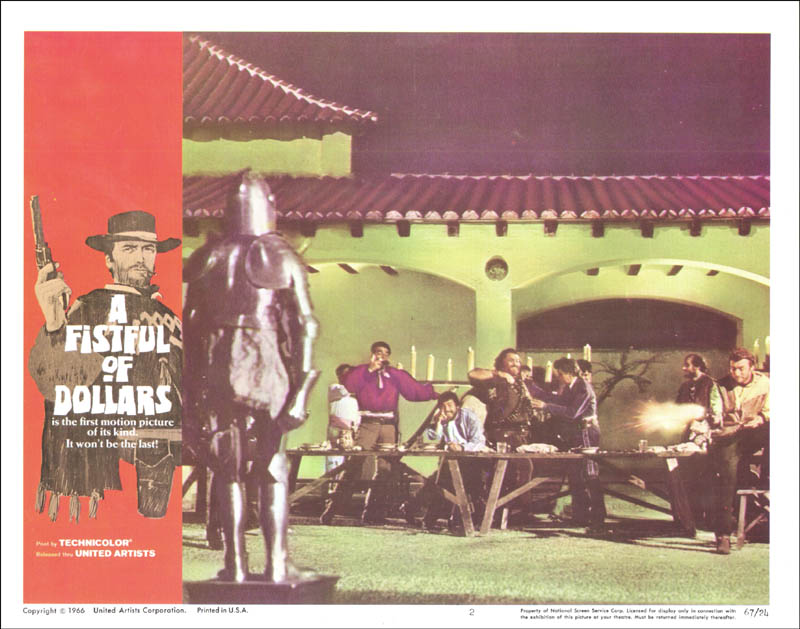 Image 1 for Clint Eastwood - Lobby Card Unsigned (Usa) 1966 - HFSID 226623