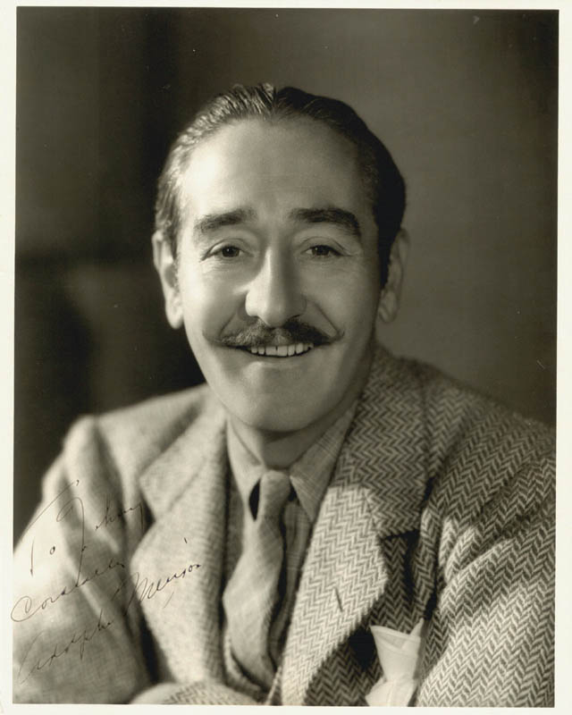 Image 1 for Adolphe Menjou - Autographed Inscribed Photograph - HFSID 226685