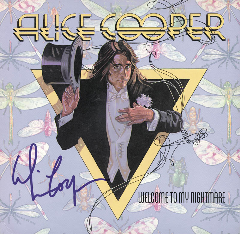 Image 1 for Alice Cooper - Record Album Cover Signed - HFSID 226757