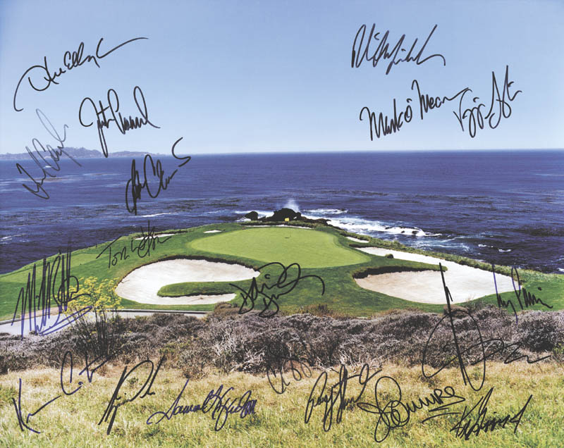 Image 1 for Tiger Woods - Autographed Signed Photograph with co-signers - HFSID 226798