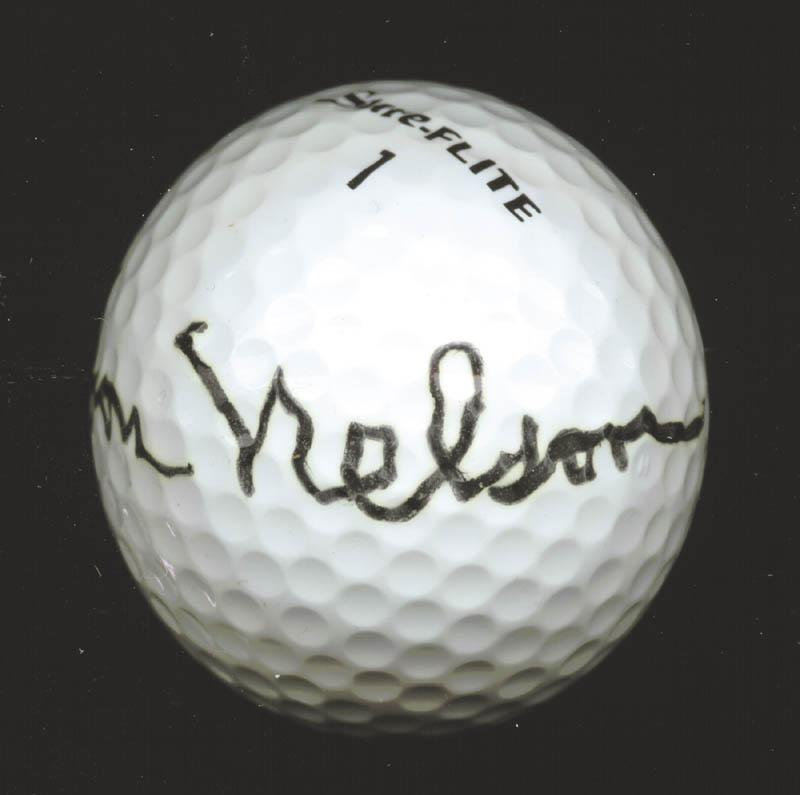 Image 1 for Byron Nelson - Golf Ball Signed - HFSID 226800