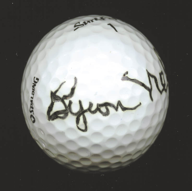 Image 3 for Byron Nelson - Golf Ball Signed - HFSID 226800