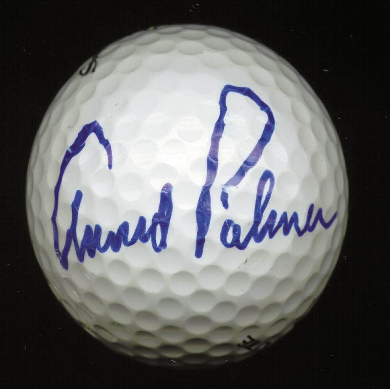 Image 1 for Arnold Palmer - Golf Ball Signed - HFSID 226801