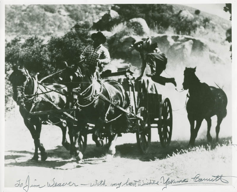 Image 1 for Yakima Canutt - Autographed Inscribed Photograph - HFSID 227190