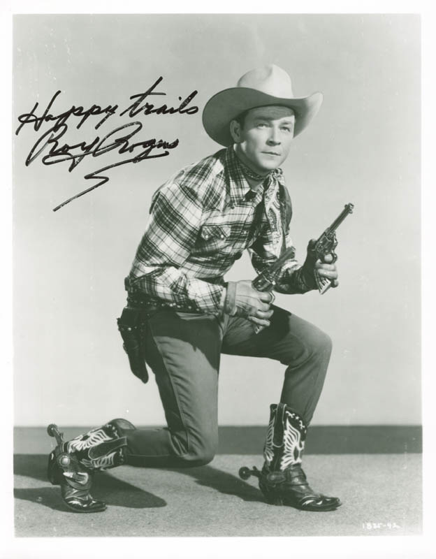 2e08beb7514 ROY ROGERS - PHOTOGRAPH SIGNED - HFSID 227199