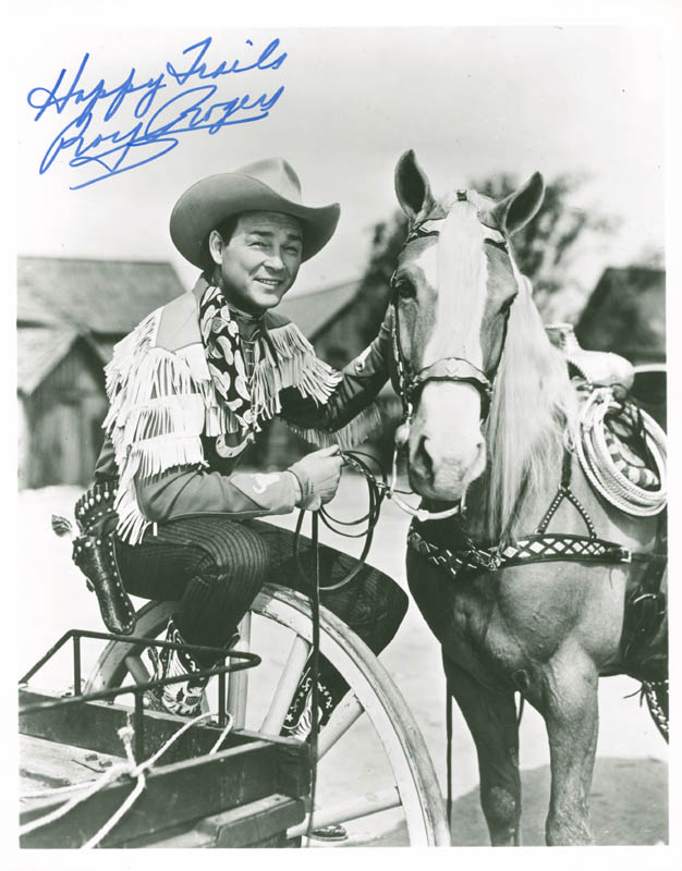 Image 1 for Roy Rogers - Autographed Signed Photograph - HFSID 227258