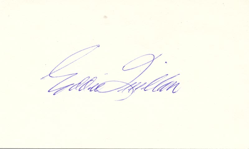 Image 1 for Edward 'Eddie' Quillan - Autograph - HFSID 22747
