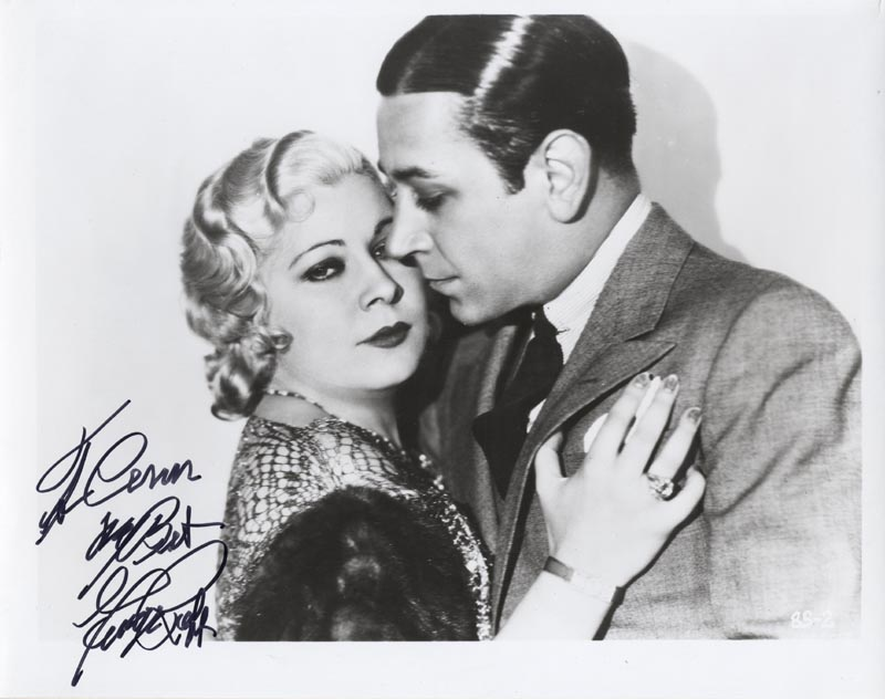 Image 1 for George Raft - Autographed Inscribed Photograph - HFSID 22749