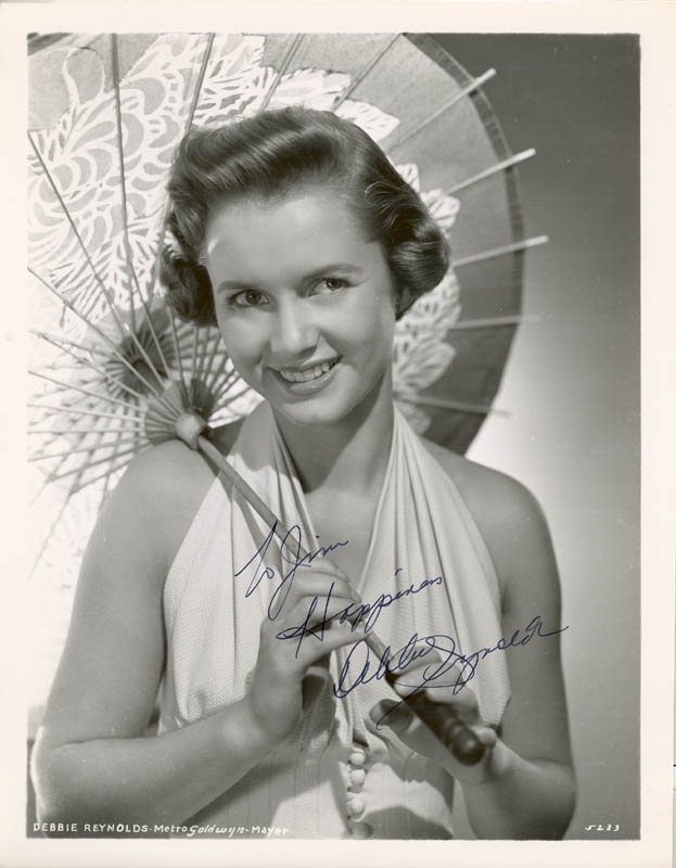 Image 1 for Debbie Reynolds - Autographed Inscribed Photograph - HFSID 22798