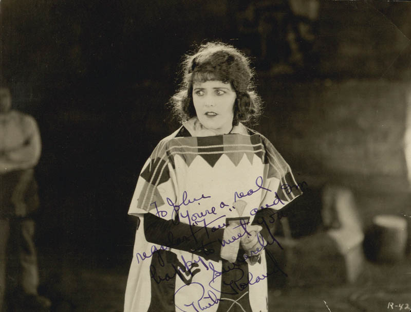 Image 1 for Ruth Roland - Autographed Inscribed Photograph - HFSID 22921