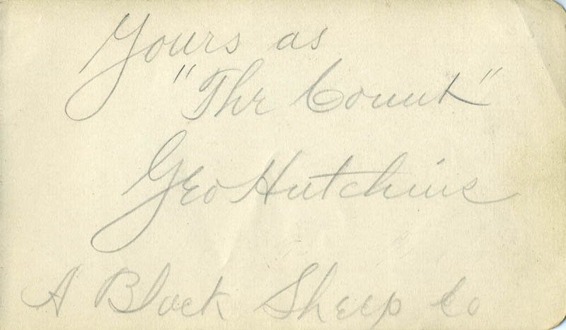 Image 3 for Stuart Robson - Autograph Sentiment Signed 1894 co-signed by: George Hutchins - HFSID 22929