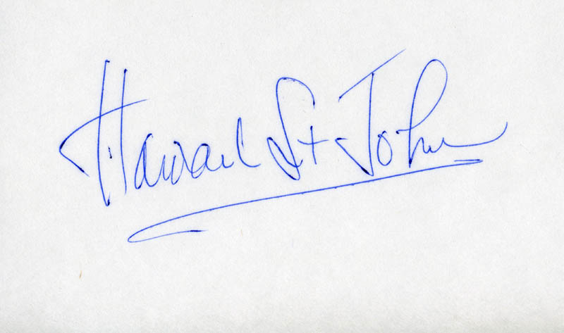 Image 1 for Howard St. John - Autograph - HFSID 22947