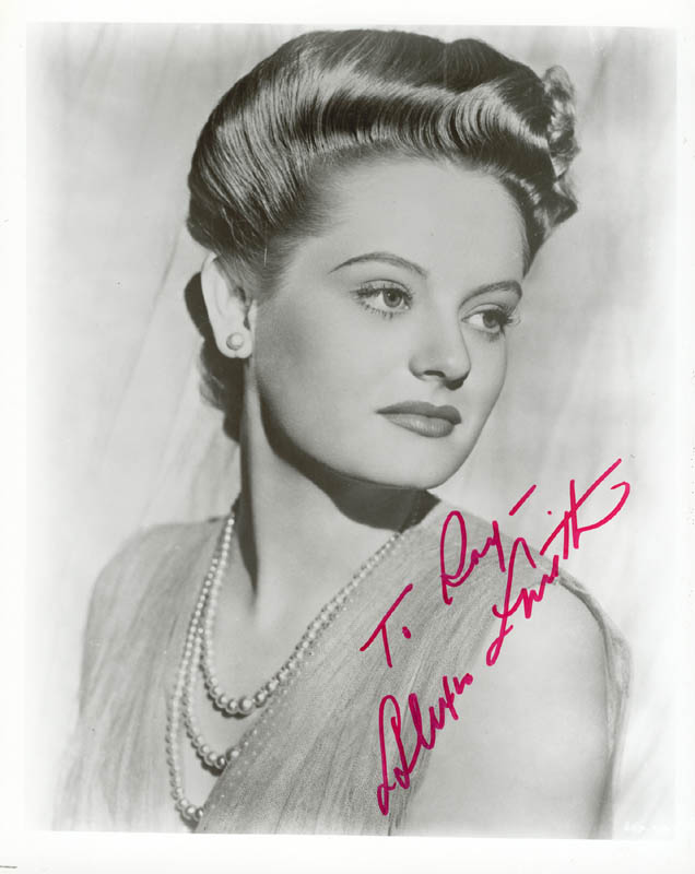 Image 1 for Alexis Smith - Autographed Inscribed Photograph - HFSID 22966