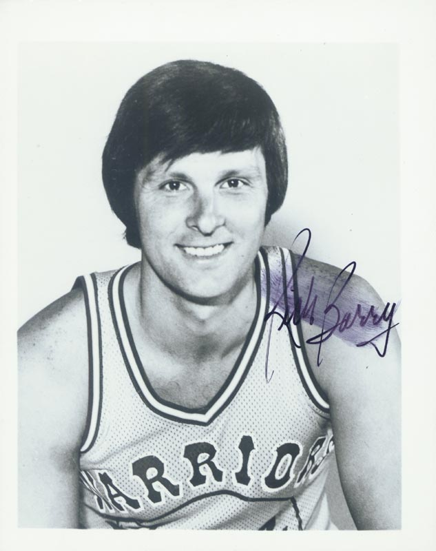 Image 1 for Rick Barry - Autographed Signed Photograph - HFSID 2305