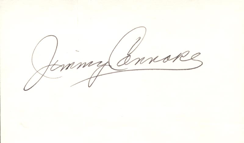 Image 1 for Jimmy Connors - Autograph - HFSID 2325
