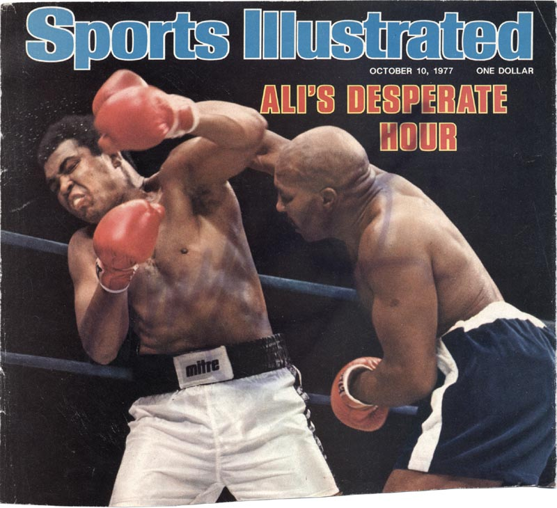 Image 1 for Muhammad 'The Greatest' Ali - Magazine Cover Signed - HFSID 2372