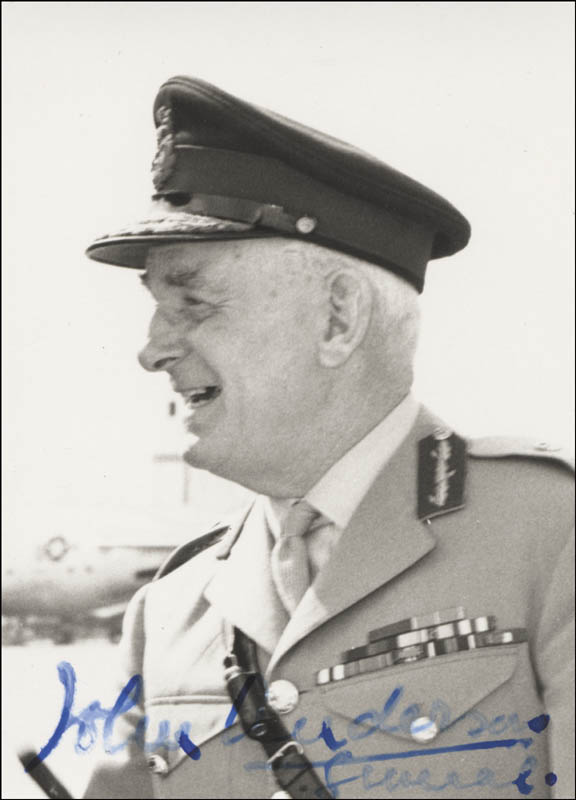 Image 1 for General John Anderson - Autographed Signed Photograph - HFSID 24008