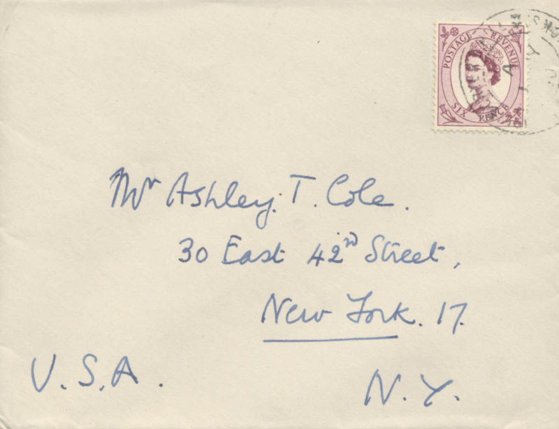 Image 3 for Air Chief Marshal Norman H. Bottomley - Autograph Letter Signed 06/30/1960 - HFSID 24038