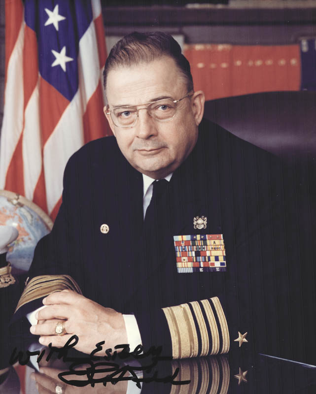 Image 1 for Admiral Isaac C. Kidd Jr. - Autographed Signed Photograph - HFSID 24262