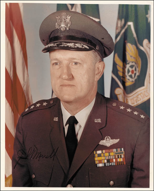Image 1 for General Jack G. Merrell - Autographed Signed Photograph - HFSID 24310