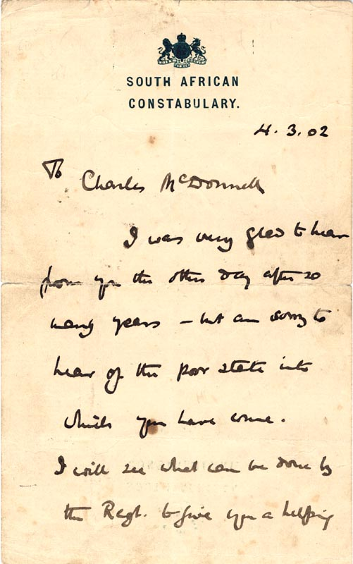 Image 3 for Robert Baden-powell - Autograph Letter Signed 04/03/1902 - HFSID 24348