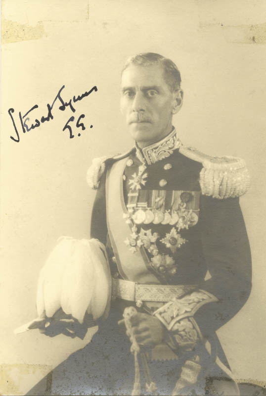 Stewart Symes - Autographed Signed Photograph | HistoryForSale Item 24431