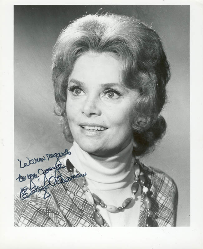 Image 1 for Bettye Ackerman - Autographed Inscribed Photograph - HFSID 24566