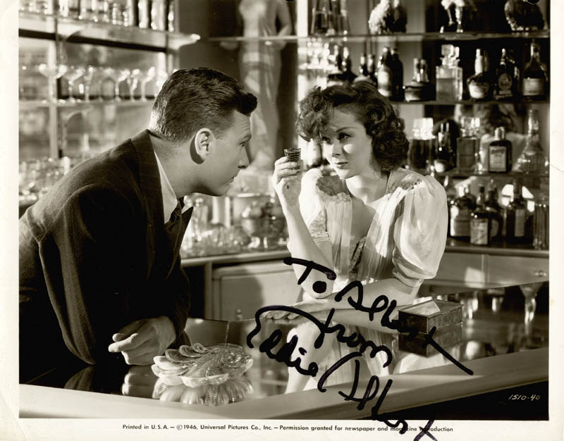Image 1 for Eddie Albert - Autographed Inscribed Photograph - HFSID 24582