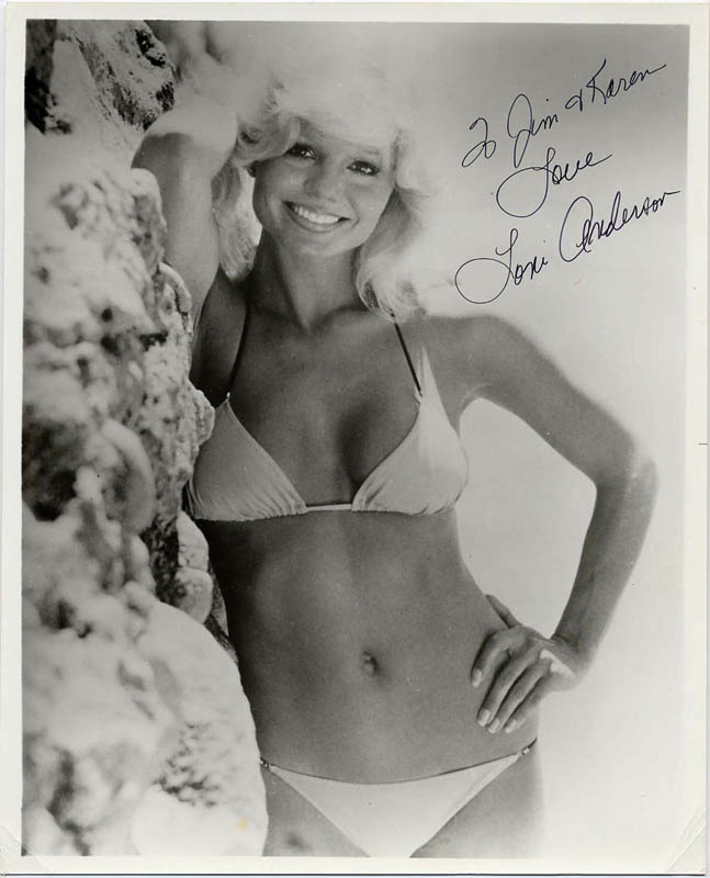 Image 1 for Loni Anderson - Autographed Signed Photograph - HFSID 24612